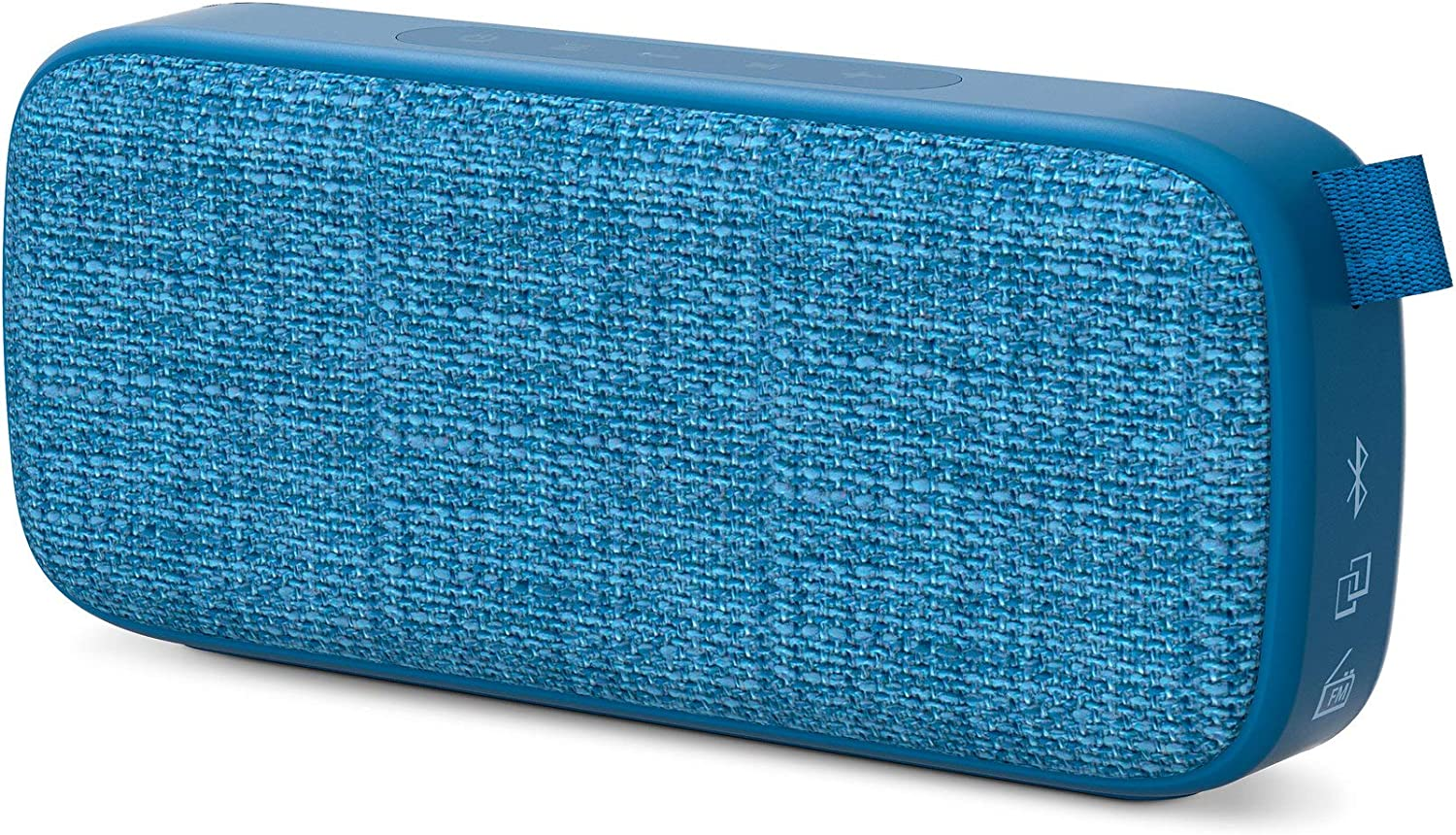 Energy Sistem Fabric Box 3+ Trend Blueberry Altavoz portátil con Bluetooth (TWS, Bluetooth v5.0, 6 W, USB&microSD MP3 Player, FM Radio)