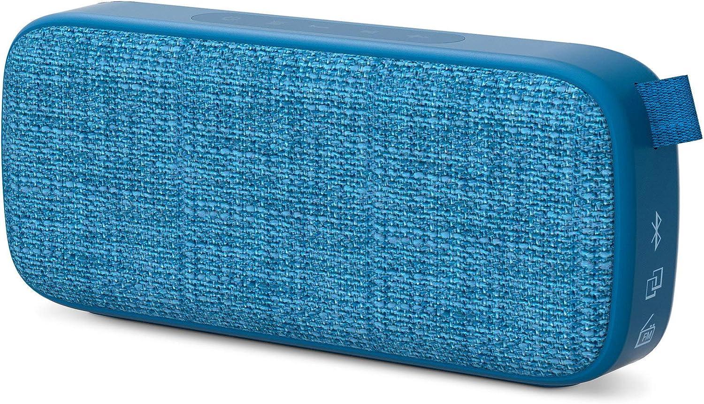 Energy Sistem Fabric Box 3+ Trend Blueberry (TWS, Bluetooth v5.0, 6 W, USB&microSD MP3 Player, FM Radio)