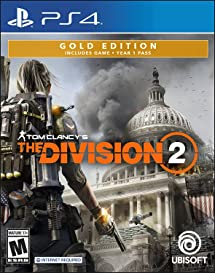 Amazon com: Tom Clancy's The Division 2 Gold Edition - PS4