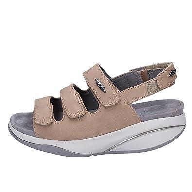 ec5e18583170 MBT Sandalo Donna TATUNA W (MBT Index Performance) codice 700652-701U -  Fango