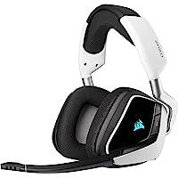 Corsair Void Elite RGB Wireless Gaming Headset (7.1 Surround Sound, Low Latency 2.4 GHz Wireless, 40ft Wireless Range…