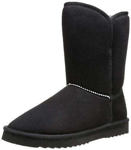 Amazon Fourrées Femme Uma Boot Bottes 001 Esprit 38 Noir Black gHz4qTw66n