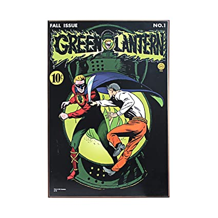 Silver Buffalo GL0236 DC Comics Silver Buffalo Green Lantern Volume Wood Wall Art 13 by  sc 1 st  Amazon.com & Amazon.com: Silver Buffalo GL0236 DC Comics Silver Buffalo Green ...