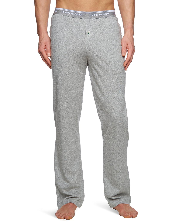 Tommy Hilfiger CLassic Jersey - Pantalón de pijama para hombre, talla 2XL, color azul (athletics): Amazon.es: Ropa y accesorios