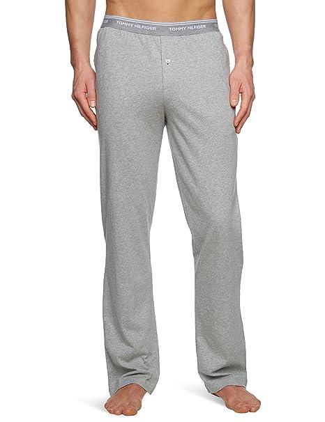 Tommy Hilfiger CLassic Jersey - Pantalón de pijama para hombre, talla 2XL, color azul