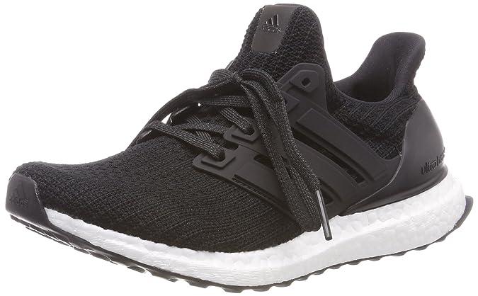 adidas Ultraboost, Chaussures de Running Homme, Multicolore (Cblack/Cblack/Ftwwht Bb6166), 45 1/3 EU