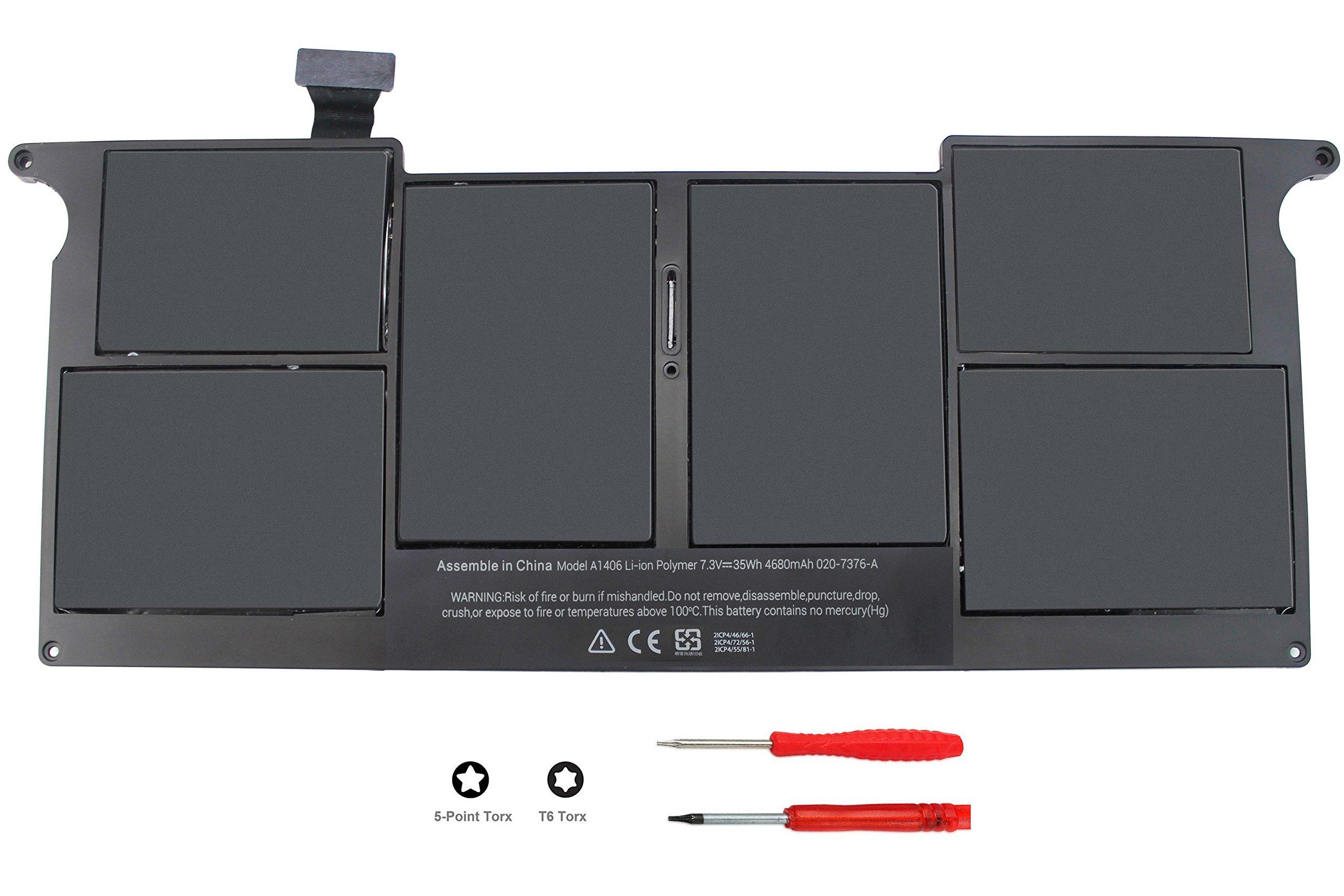 Bateria A1406 A1495 7.3V 35Wh Apple MacBook Air 11 A1465 Mid