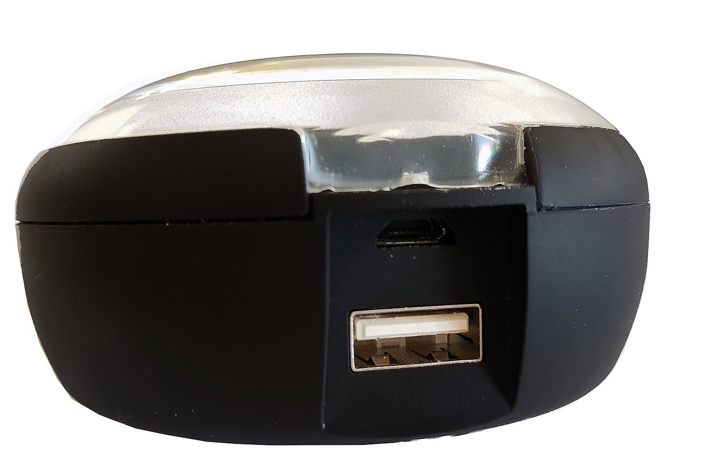 Avenzo AV651 - Auriculares True Wireless con Power Bank de 2.000mAh, Color Negro: Amazon.es: Electrónica