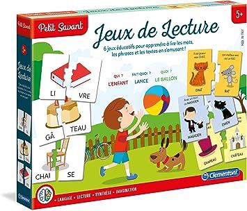 Clementoni 625505 Jeu Educatif Jeux De Lecture 5 A 7 Ans Amazon Fr Jeux Et Jouets