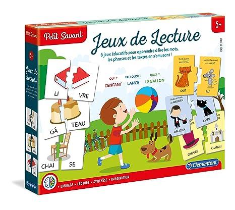 da488fa2933be Clementoni - 625505 - Jeu Educatif - Jeux De Lecture - 5 à 7 ans ...