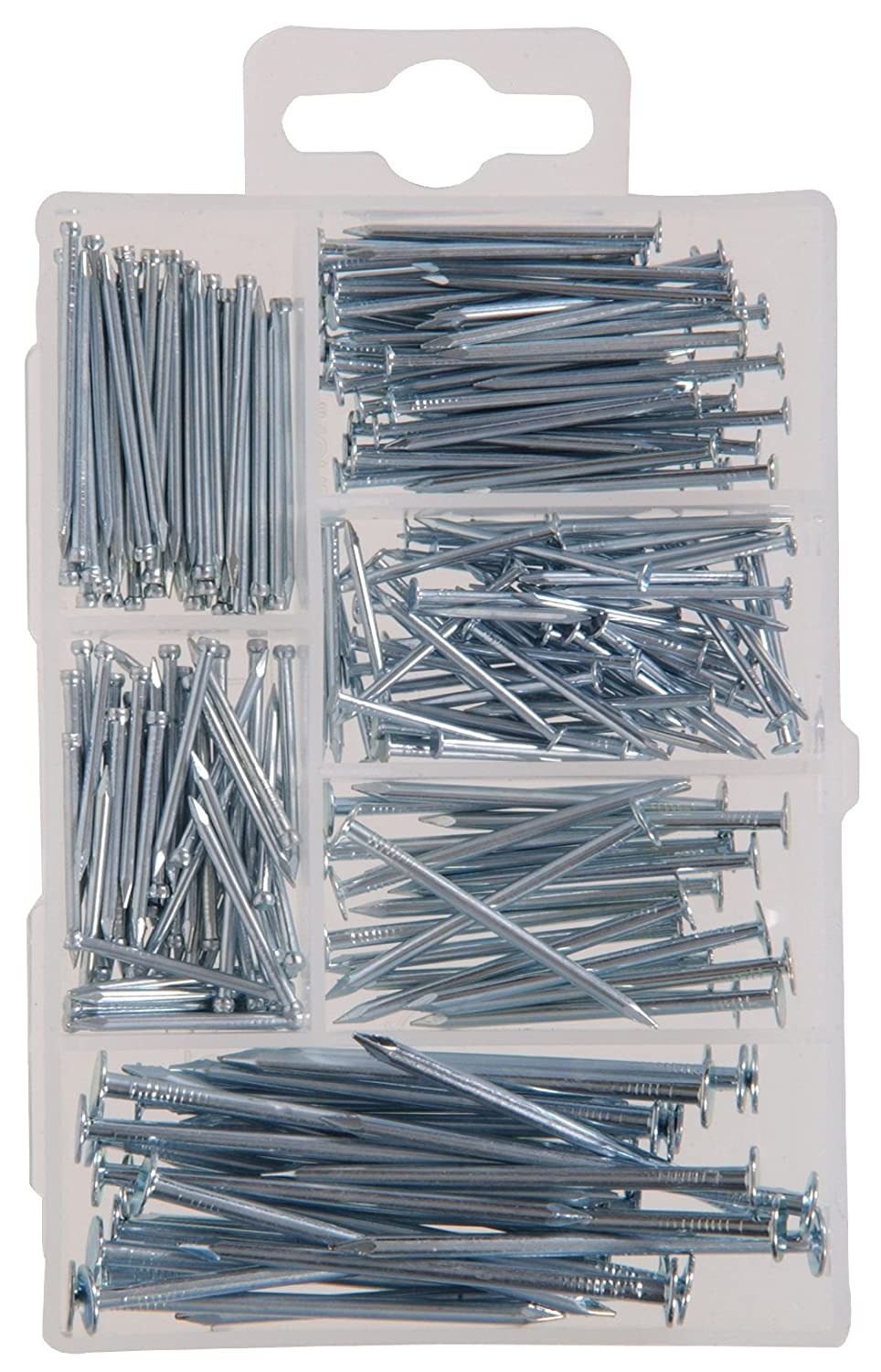 The Hillman Group 591520 Small Wire Nail and Brad Assortment 260 Pack