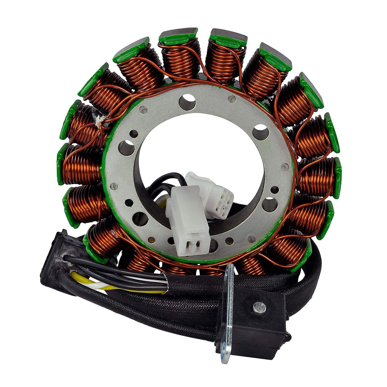 Regulator Rectifier For Suzuki LTA 400 Eiger//LTF 400 Eiger 2002 2003 2004 2005 2006 2007 Kit Stator Improved Magneto Flywheel