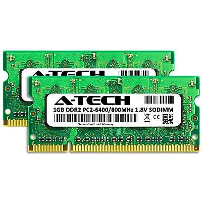 RAM for DELL Latitude E5500 2 x 2GB DDR2 800MHz SODIMM PC2-6400 200-Pin Non-ECC Memory Upgrade Kit A-Tech 4GB