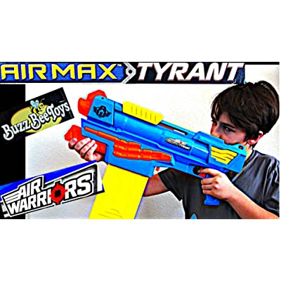 Buzz Bee Air Warriors Air Max Tyrant: Toys & Games