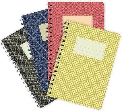 etmamu 659 – Pack de notas Japón A6, 60 hojas, en blanco: Amazon.es: Oficina y papelería