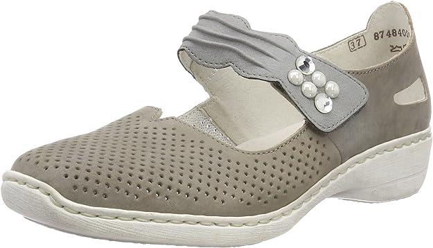 Rieker 413g2, Ballerines Femme: : Chaussures et Sacs