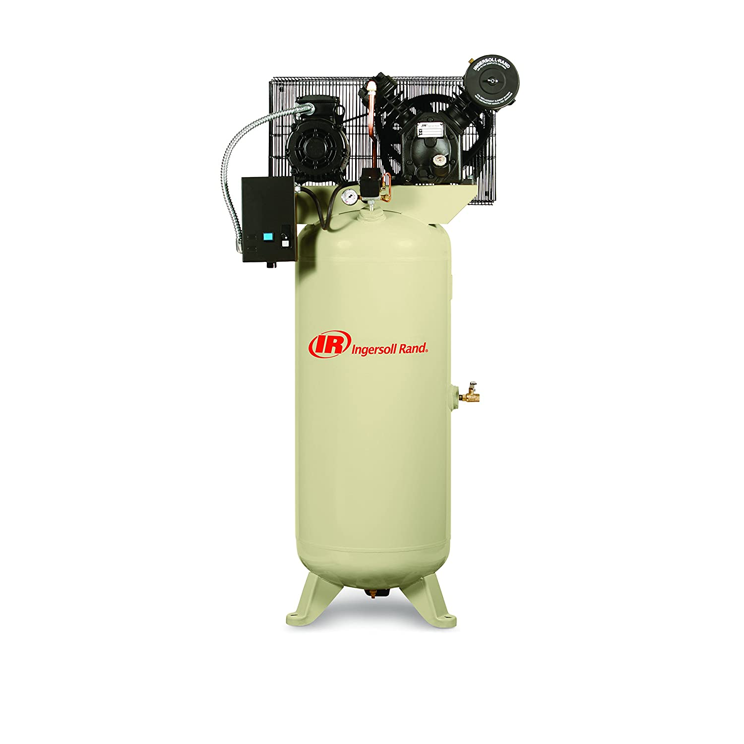 2340L5 5 HP 60 Gallon Two-Stage Air Compressor (230V, Single Phase) Ingersoll Rand 2340L5-V