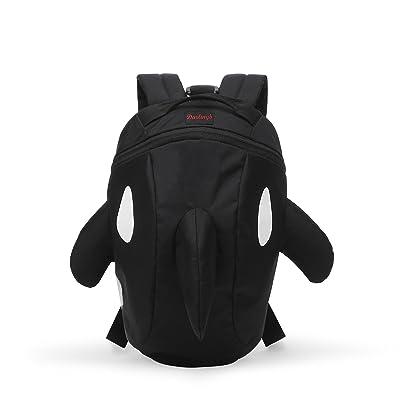 Darling's Killer Whale/Orca Design Lightweight Daypack/Backpack - Medium - Black