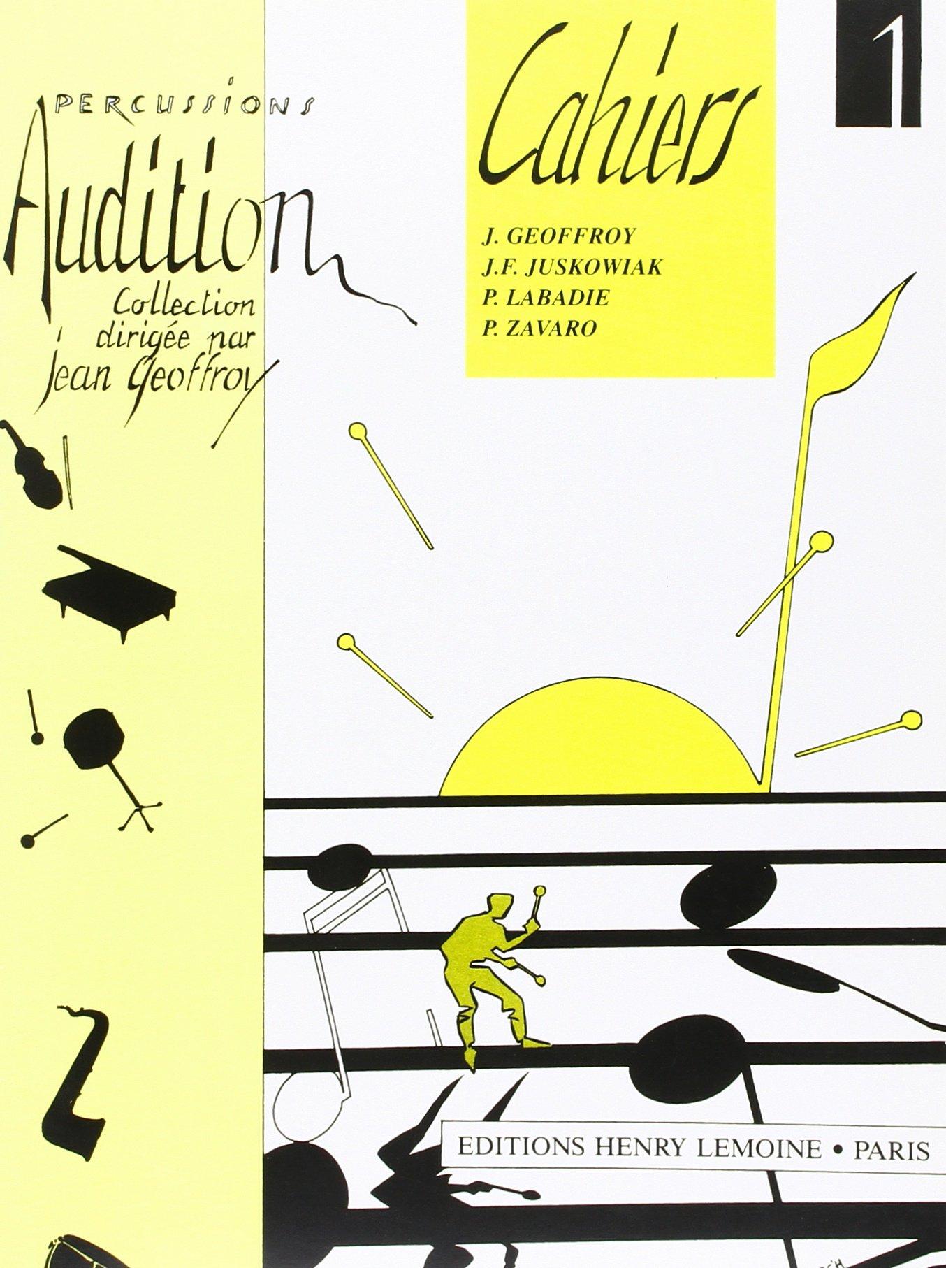 Audition Volume 1 Partition – 30 mai 1992 Jean Geoffroy Lemoine B000ZGDKIS Musique