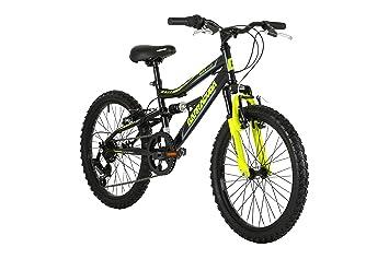 Barracuda Kids Draco DS Rueda para Bicicleta de montaña (Suspensión Completa, Negro,