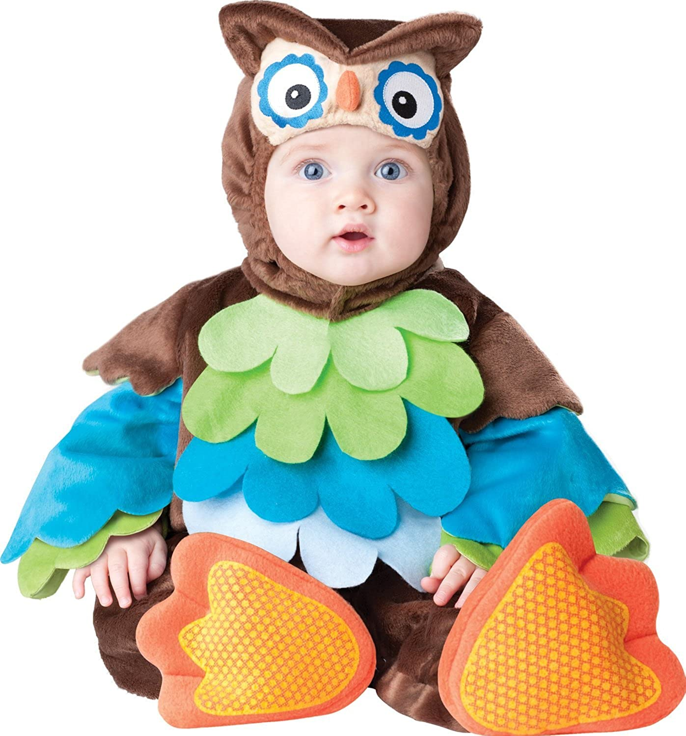 Brand New What a Hoot Owl Jumpsuit Outfit Infant//Toddler Costume