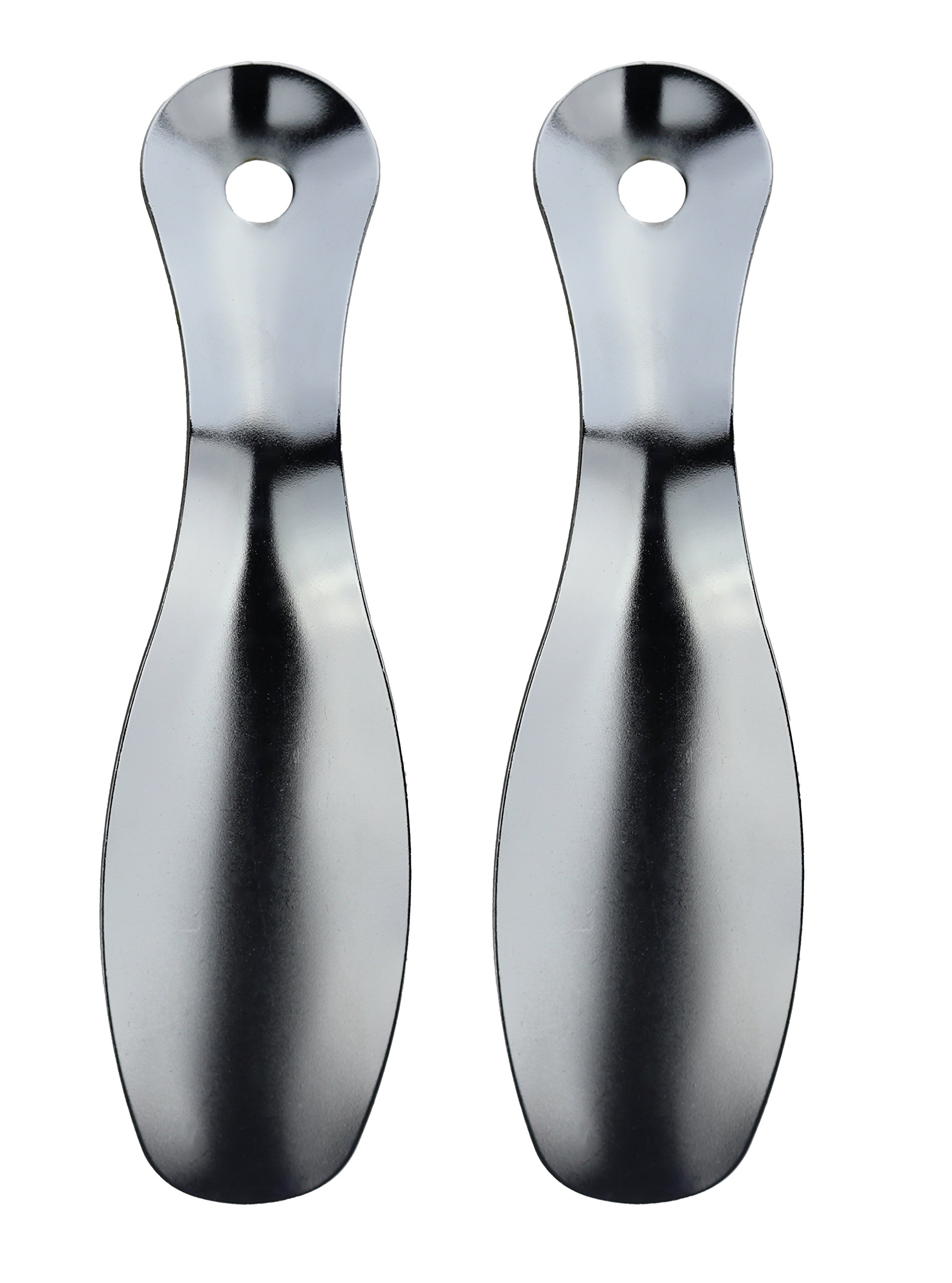 7.5 Inch Metal shoehorn. Travel Shoe horn. Unisex Shoehorn. (Two Shoehorn)