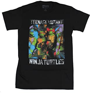 18e255f7 Amazon.com: Teenage Mutant Ninja Turtles Pocket Adult Green T-Shirt ...