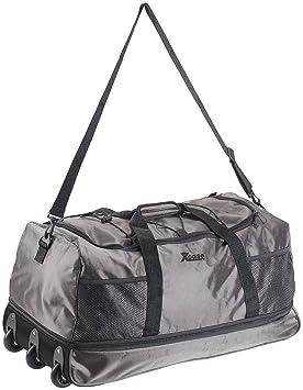 Xcase – bolso con ruedas, bolso de viaje con función trolley ...