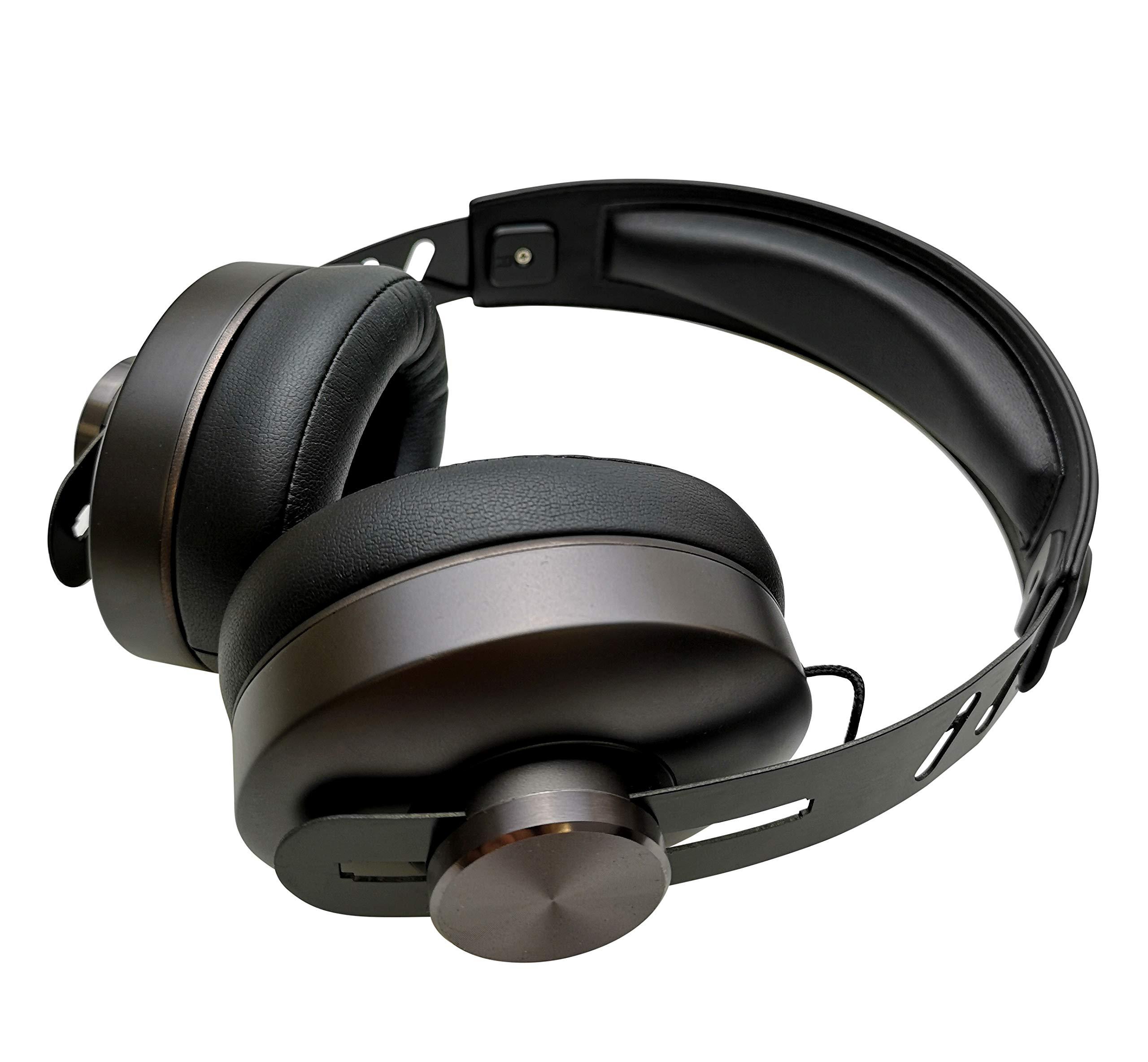 Auriculares Audiux Premium 3D Sound Con Cable - True Multidimensional Surround Sound Cuero Ear Cushion con Memory Foam p