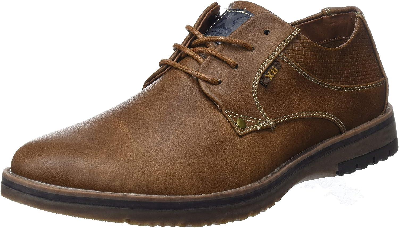 TALLA 42 EU. XTI 48180, Zapatos de Cordones Oxford para Hombre