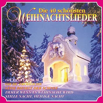 Weihnachtslieder Kurz.Die 40 Schönsten Weihnachtslieder Various Amazon De Musik