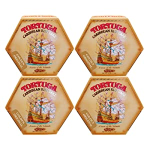 TORTUGA Caribbean Original Rum Cake with Walnuts – 4 oz. - 4 Pack - The Perfect Premium Gourmet Gift for Stocking Stuffers, Gift Baskets, and Christmas Gifts - Great Cakes for Delivery
