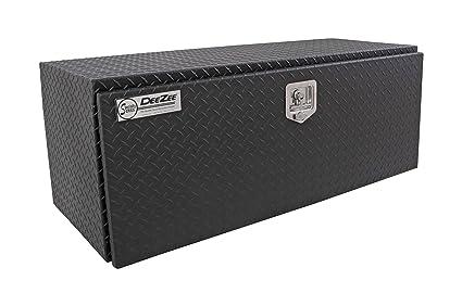 Under Bed Tool Box >> Amazon Com Dee Zee Dz75tb Black Tread Aluminum Underbed