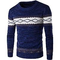 Homme Pull Casual DéContracté LâChe Style Nationalité Pullover Tricot Slim Pas Cher à La Mode Chic Chemisier Pin Up Tops Hiver Chaud Sweater