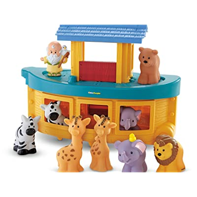 Fisher-Price Little People Noah's Ark Playset: Toys & Games
