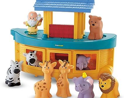 Fisher Price Little People Zoo Ark Giraffe with Hard Spots