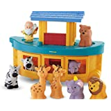 Fisher-Price K0475-0 - Siente & Find Arca de Noé