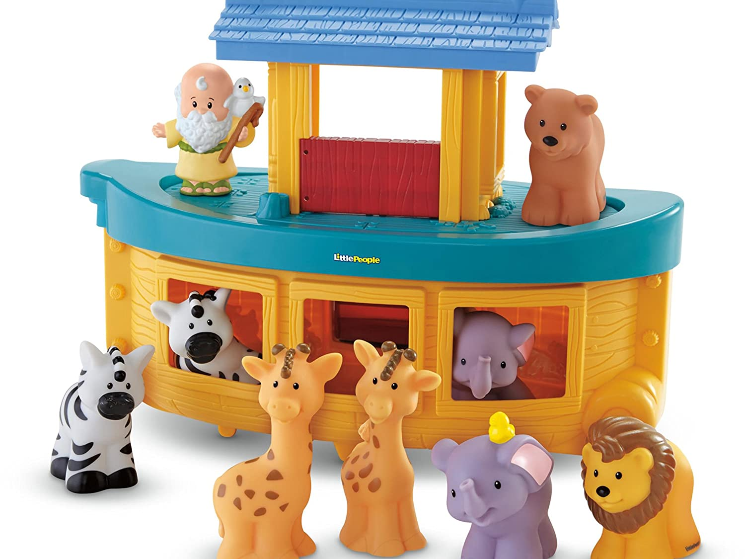 Fisher-Price Little People Noah's Ark Fisher Price - Import BMM06