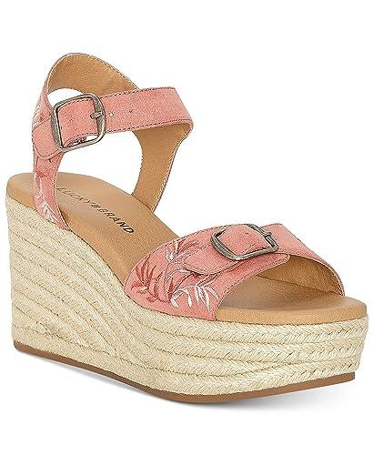 8d788994a60 Amazon.com   Lucky Brand Women's NAVEAH2 Espadrille Wedge Sandal ...
