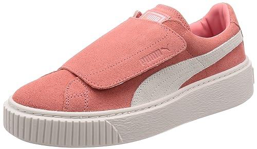 01 Puma Rosa Bianco 39 Platform 365224 Strap Wn's Sneakers 0UqS0rw