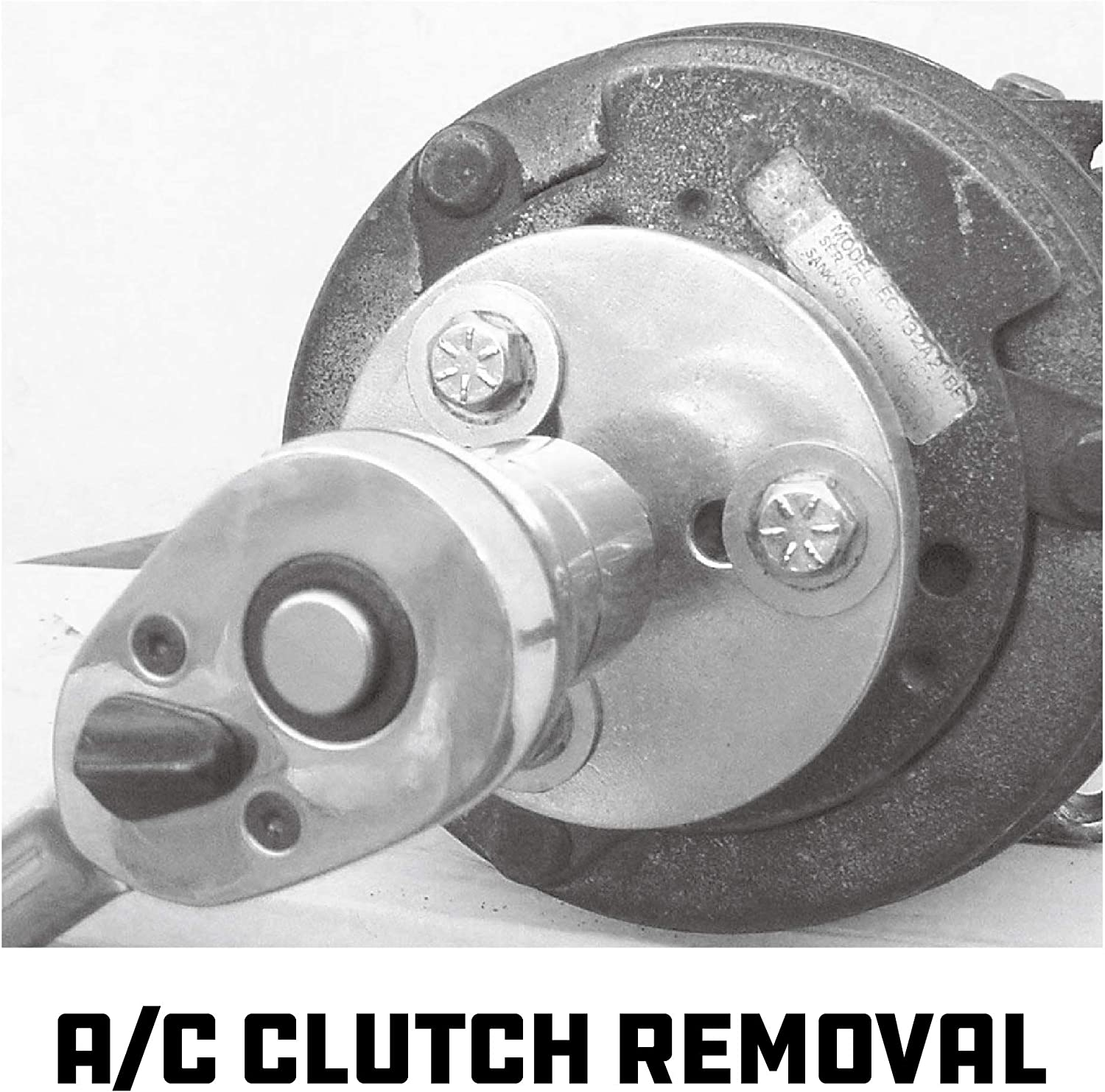 BTSHUB 21pc A//C Clutch Removal /& Installation Kit Air Conditioner Clutch Holding Tool Set