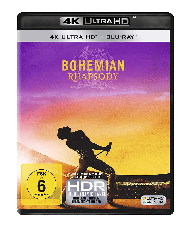 Bohemian Rhapsody 4K Ultra HD + Blu-ray 2D Alemania Blu-ray ...