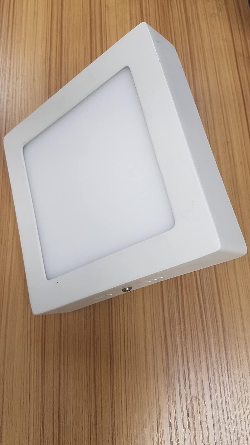 Cool White 4100/°K Square New Product with Special Price! LED Panel Light 12W Product Size 6.69 x 6.69 x 1.38 h AC95-240V 50//60Hz