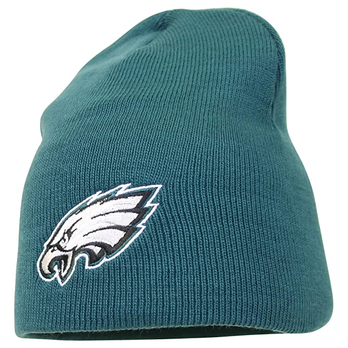 2153c7f5fff1a8 Image Unavailable. Image not available for. Color: Philadelphia Eagles  Beanie Knit ...
