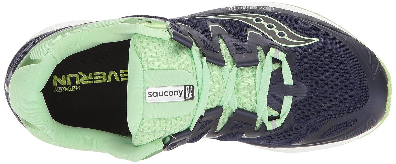 Saucony Mens Ride 10 Running Shoe Grey Black S10413-3