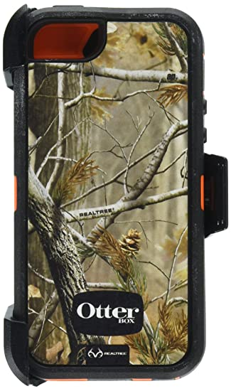 more photos 14d8d c49ca OtterBox Defender Series Case for iPhone 5 5S - Realtree Camo - Max 4HD  Orange