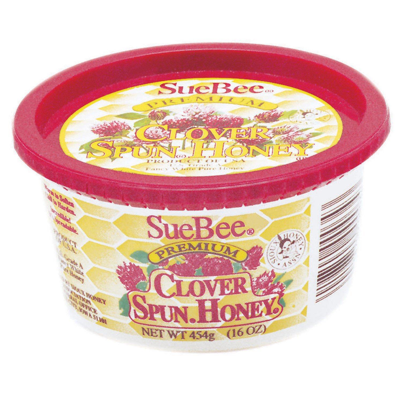 Sue Bee Honey Spun Honey, 16 Ounce -- 12 per case. by Sue Bee Honey