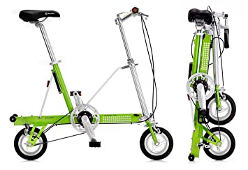 Bicicleta plegable CarryMe DS (Dual Speed) verde