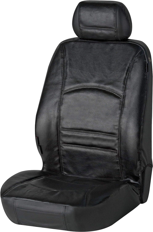 Compatible avec Les airbags lat/éraux Walser 19678 ^Housse de si/ège Noire en Cuir v/éritable Ranger Conforme aux Normes T/ÜV Allemagne et avec Homologation g/én/érale
