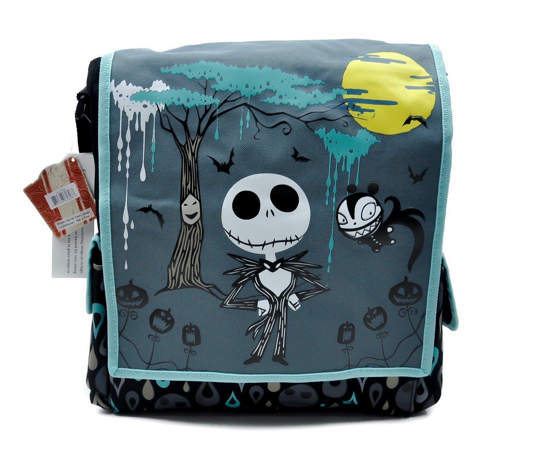 Amazon.com : Nightmare Before Christmas Tall Messenger Bag Purse ...